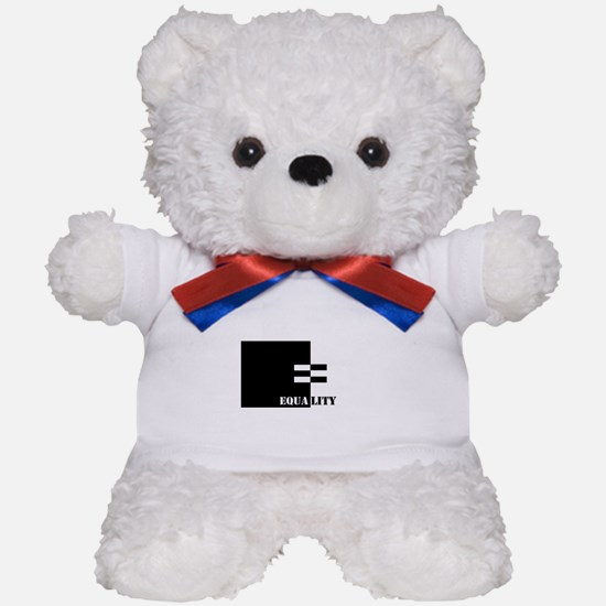 Interracial Equality Teddy Bear