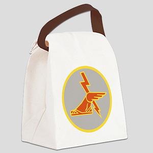 USA 9th Signal Battalion Canvas Lunch Bag