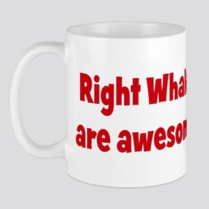 Right Whales are awesome Mug