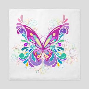 Decorative Butterfly Queen Duvet