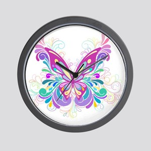 Decorative Butterfly Wall Clock