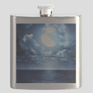 Night Ocean Flask