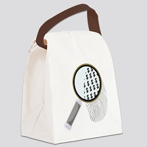 Detective_0004 Canvas Lunch Bag