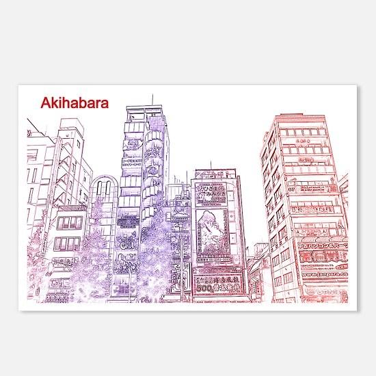 Akihabara Tokyo Postcards (Package of 8)