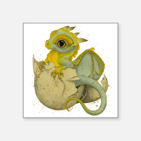 Obscenely Cute Dragon Sticker