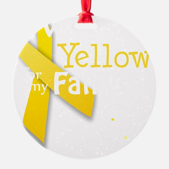 trans_i_wear_yellow_for_my_father_u Ornament