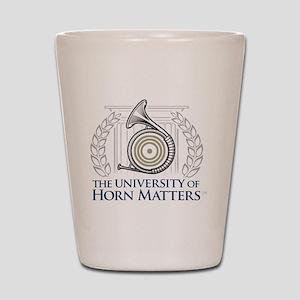 U of HM Shot Glass
