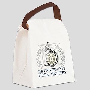 U of HM Canvas Lunch Bag