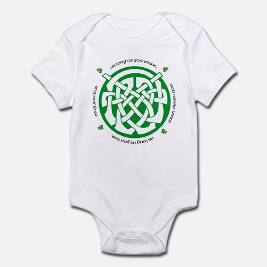 Irish Blessing (May you Live. Infant Bodysuit
