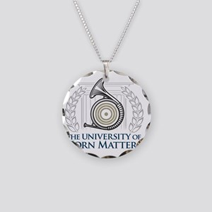 U of HM Necklace Circle Charm