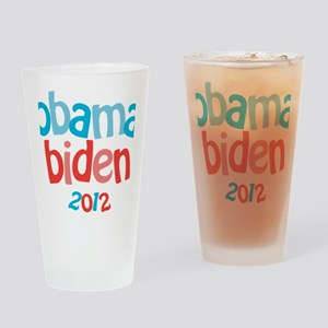 Obama Biden 2012 Drinking Glass