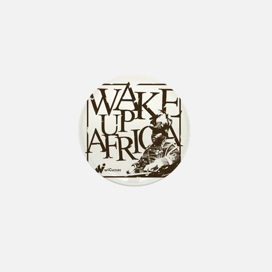 Garvey Wake Up Africa... Mini Button