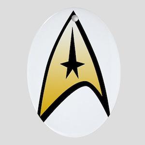 Star Trek Insignia Oval Ornament