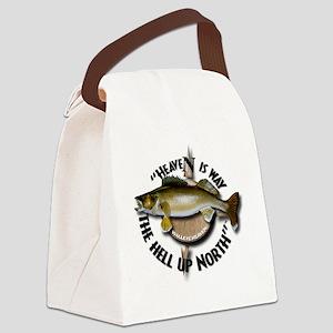 Walleye Canvas Lunch Bag