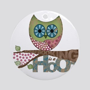 Scrapbooking is a Hoot! Featuring O Round Ornament
