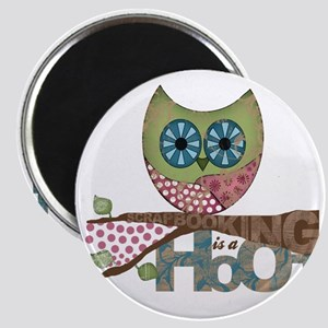 Scrapbooking is a Hoot! Featuring Owl Magnet
