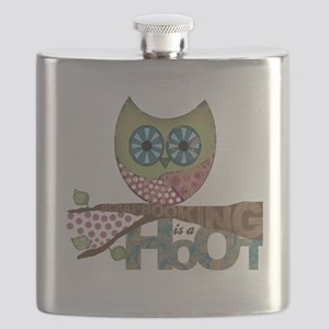 Scrapbooking is a Hoot! Featuring Owl Flask