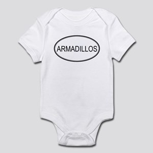 Oval Design: ARMADILLOS Infant Bodysuit