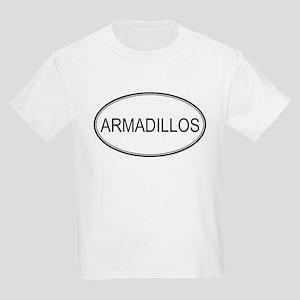 Oval Design: ARMADILLOS Kids T-Shirt