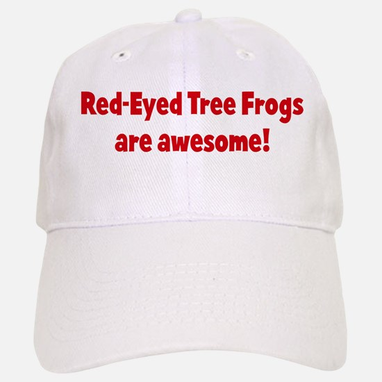 Red-Eyed Tree Frogs are aweso Baseball Baseball Cap