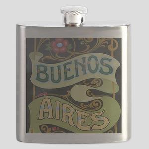 Buenos Aires fileteado Flask