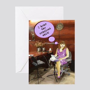 official reporter fun Greeting Card