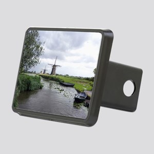 Dutch windmills Rectangular Hitch Cover