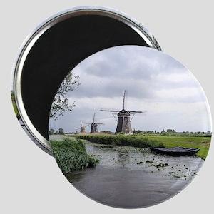 Dutch windmills Magnet