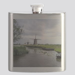 Dutch windmills Flask