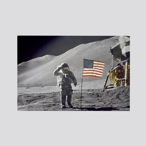 Scotts Lunar Salute Rectangle Magnet