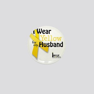 i_wear_yellow_for_my_husband_updated Mini Button