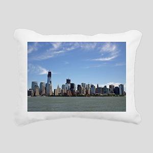 Skyline Rectangular Canvas Pillow