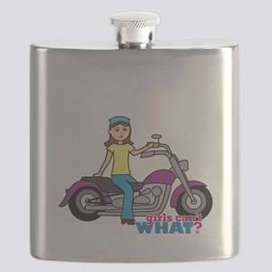 Biker Girl Flask