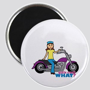 Biker Girl Magnet