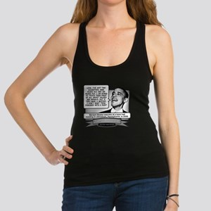 Obama Sez Babies Are Punishment Racerback Tank Top