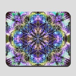 Flower of Life Mandala Mousepad