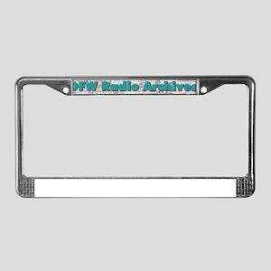 DFW Radio Archives - Bar Logo License Plate Frame