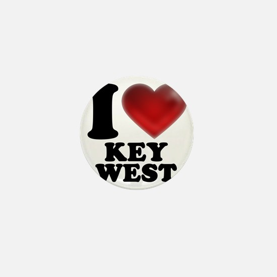 I Heart Key West Mini Button