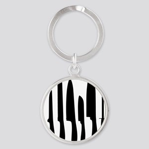 Chef Knife Set Round Keychain