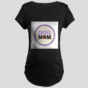 Dog Mom Maternity T-Shirt
