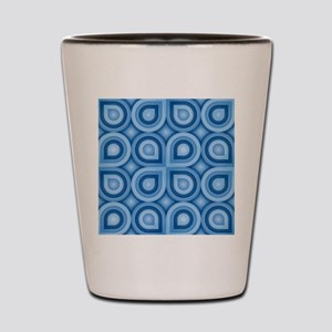 Retro Pattern Shot Glass