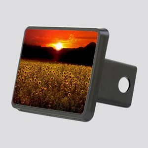 Sunflower Sunset iPad Case Rectangular Hitch Cover