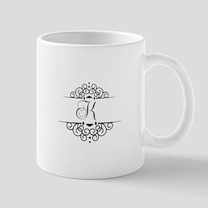 K Scroll Mugs
