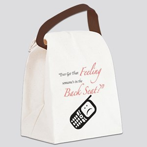 Ever Get That Feeling? Canvas Lunch Bag