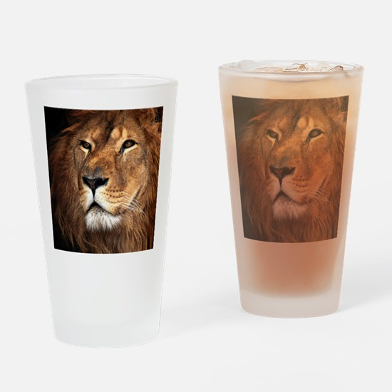 Lion Drinking Glass