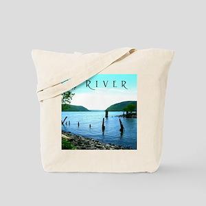 Hudson River South Plum Point Tote Bag