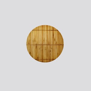 Bamboo Mini Button