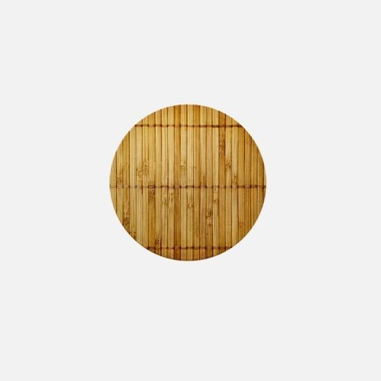 Bamboo Mini Button