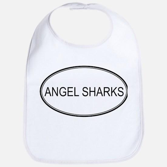 Oval Design: ANGEL SHARKS Bib