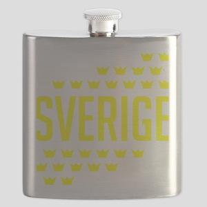 Sveriges kronor Flask